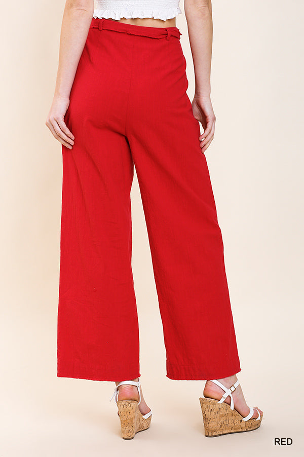 Lady In Red Pant