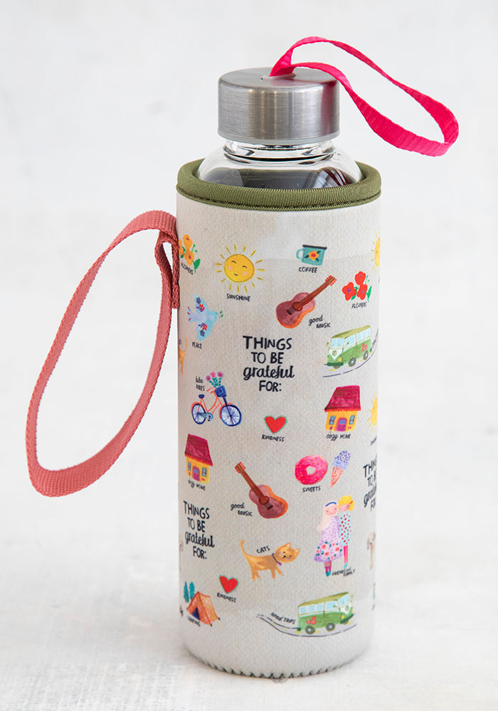 Neoprene Drink Cozy - Things To Be Grateful For