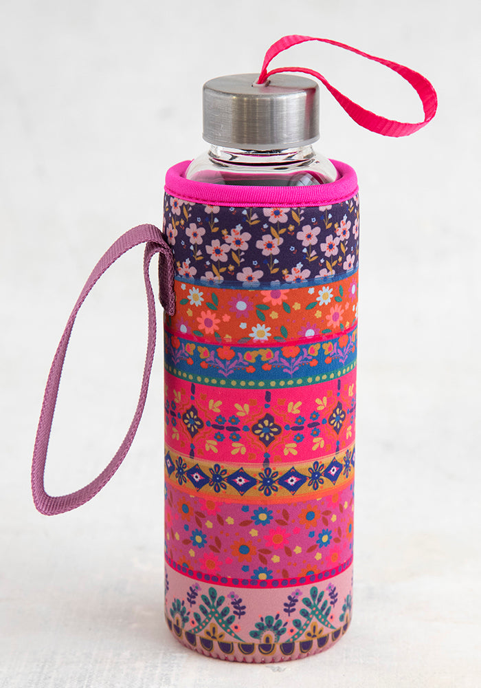 Neoprene Drink Cozy - Field Of Flowers
