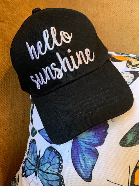 Hello Sunshine Cap