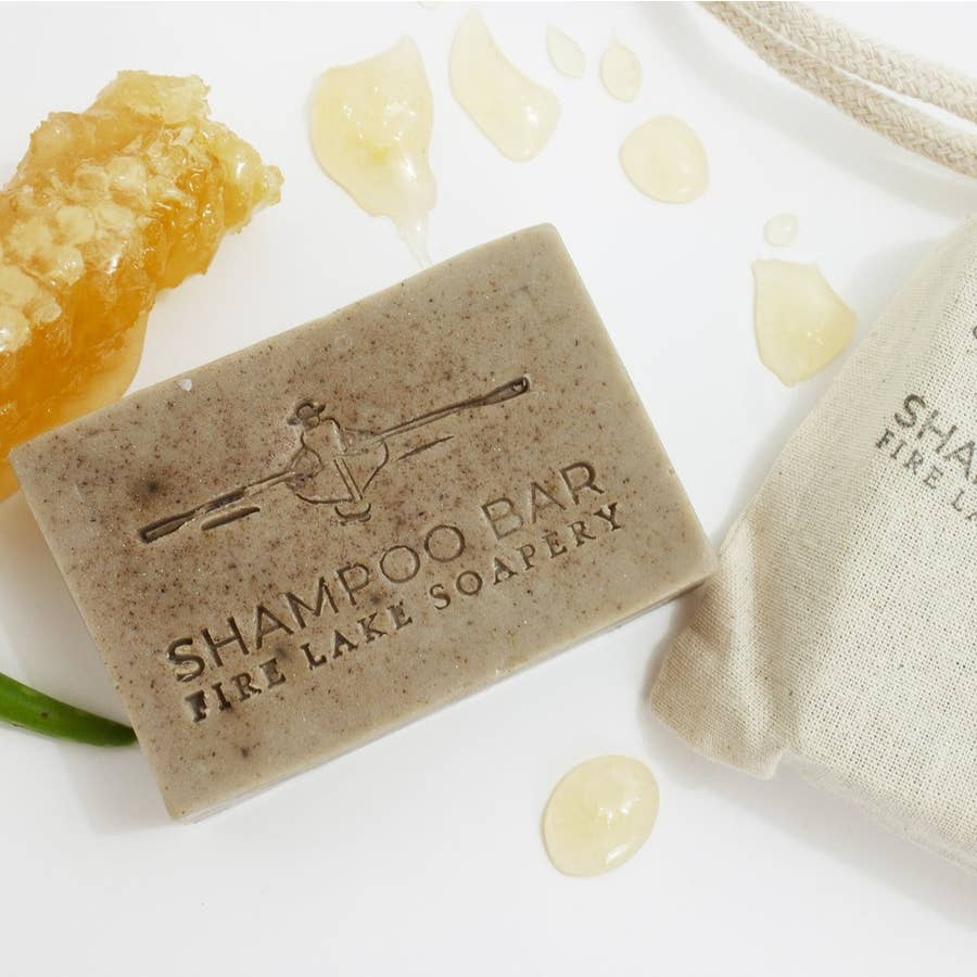 Honey Patchouli Shampoo Bar