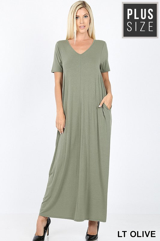 All For The Glory Maxi Dress