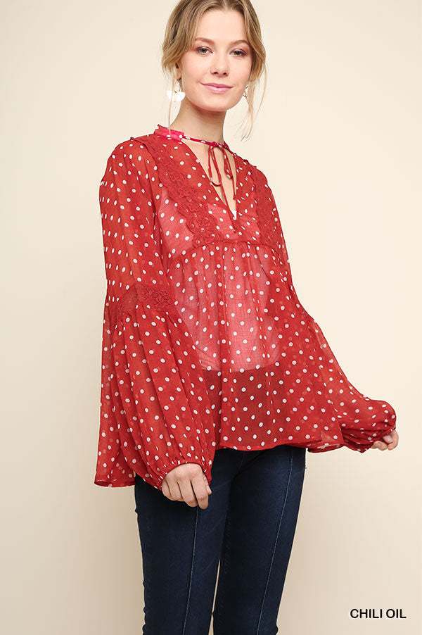 It's The Day For Dots Top