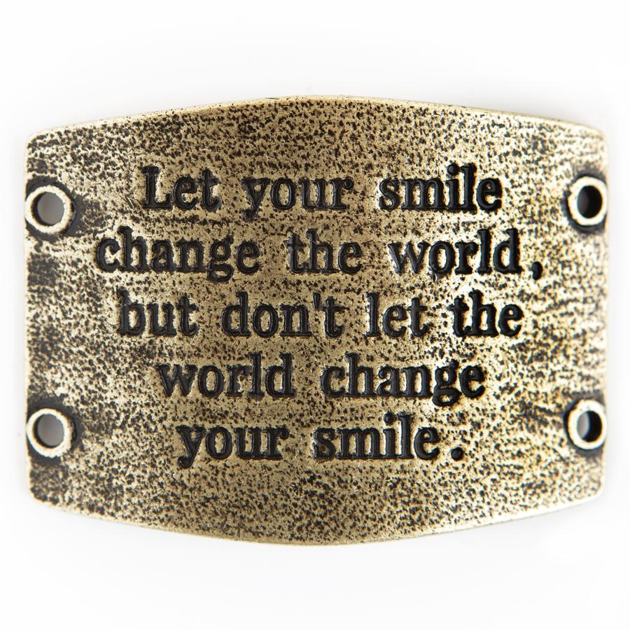 Let Your Smile Change The World...Vintage Sentiment - Lenny & Eva