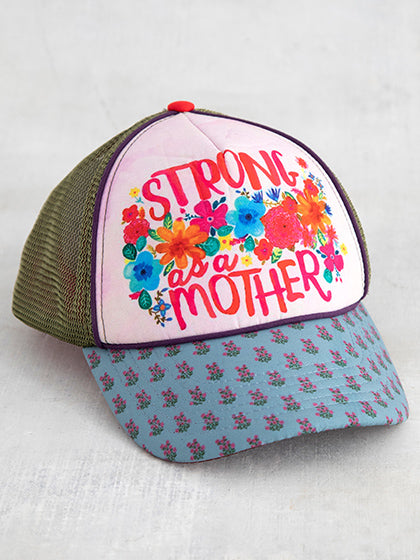 """Strong As A Mother"" Trucker Hat"