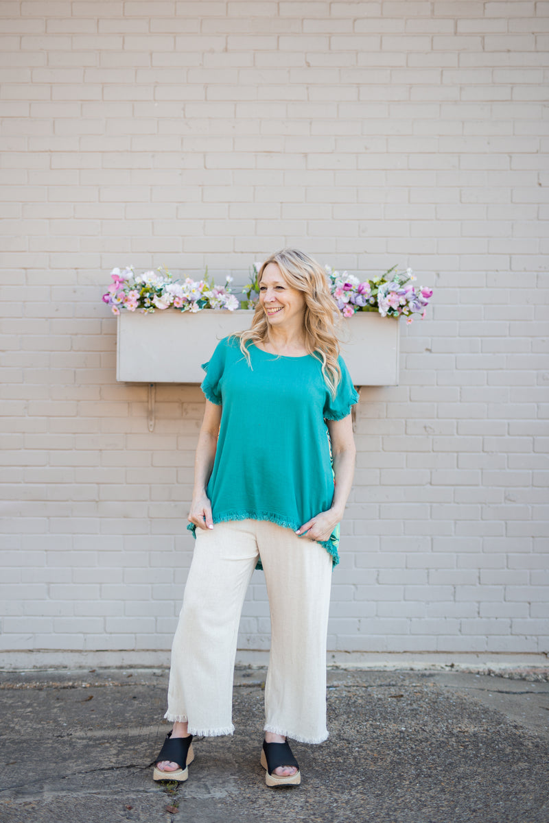 Less Is More Wide Leg Pant