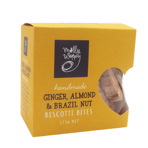 Ginger, Almond & Brazil Nut Biscotti - Tree Gifts NZ