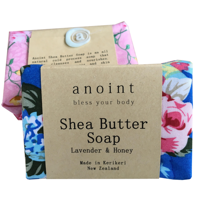 Anoint Boutique Shea Butter Soap - Tree Gifts NZ