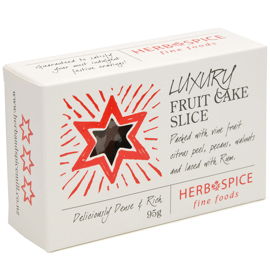 Luxury Fruit Cake Slice 95g - Tree Gifts NZ