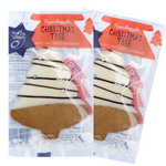 x2 White Choc & Gingerbread Xmas Cookies
