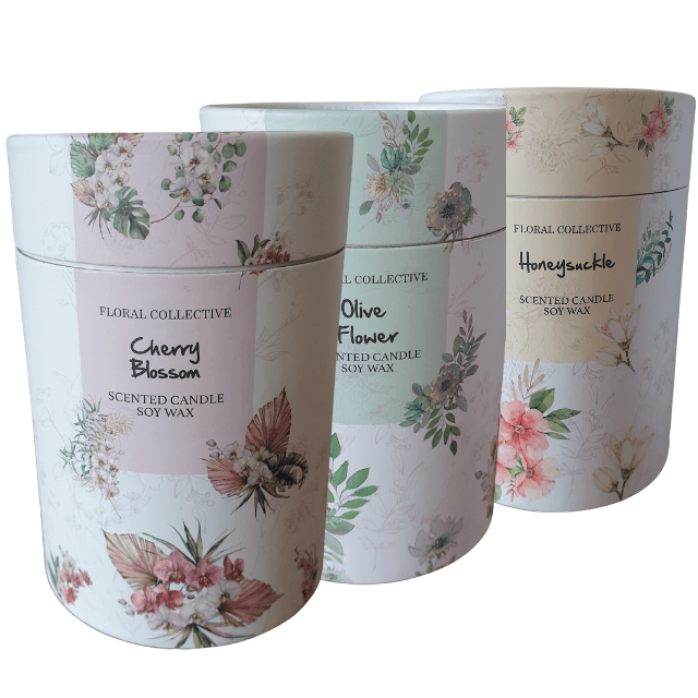 Cherry Blossom  / Olive Flower Candles