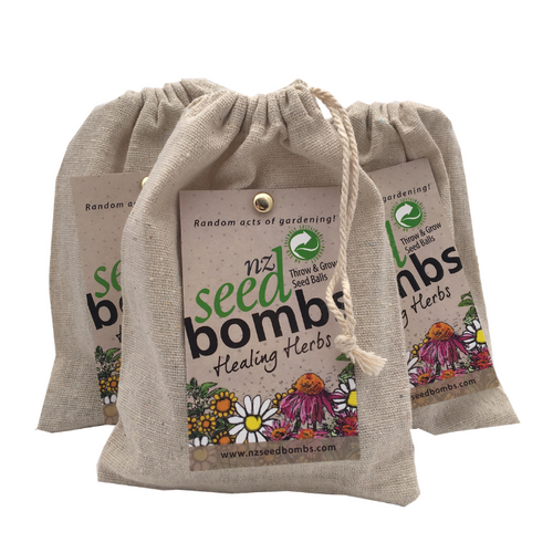Healing Herb Seed Bombs to Throw and Grow! - Corporate Gift Seeds