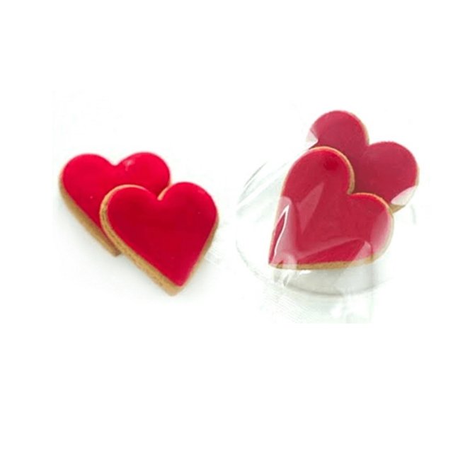 Twin Pkt Gingerbread Heart Cookies - Tree Gifts NZ