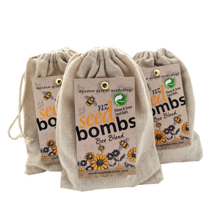 Seed Bombs - Bee - Tree Gifts NZ