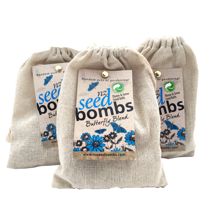 Seed Bombs - Butterfly - Tree Gifts NZ