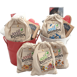 Buy NZ Seed Bombs Online at Tree Gifts NZ - Throw and Grow