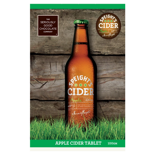 Speight's Apple Cider Chocolate Tablet - Tree Gifts NZ