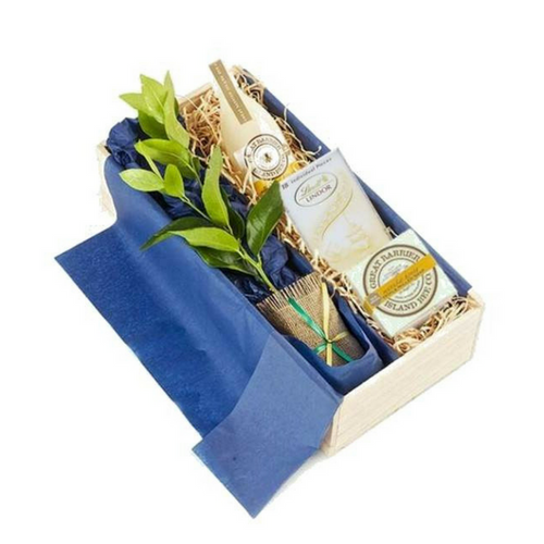 Lime Tree Gift with Vanilla Bee Body Care  - Tree Gifts NZ