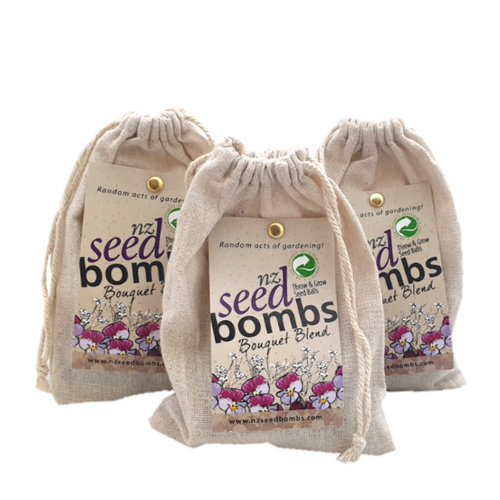 Seed Bombs - Bouquet - Tree Gifts NZ