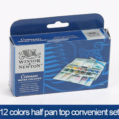 Solid Watercolor Painting Set