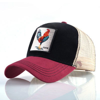 Kinds of embroidery animal Baseball Caps
