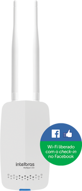 Roteador wireless com check-in no Facebook HotSpot 300
