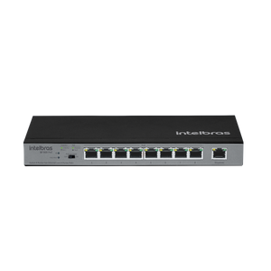 Switch 9 portas Fast Ethernet com 8 portas PoE+ SF 900 PoE