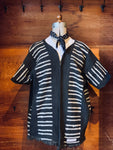 VINTAGE STELLA + PARKER AFRICAN MUD CLOTH JACKET