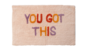 You Got This Bath Mat (Multi Colour)