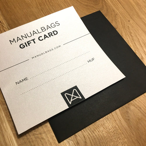 MANUALBAGS GIFT CARD