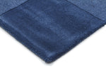 Timeless Boxed Pattern Wool - Blue [Runner]