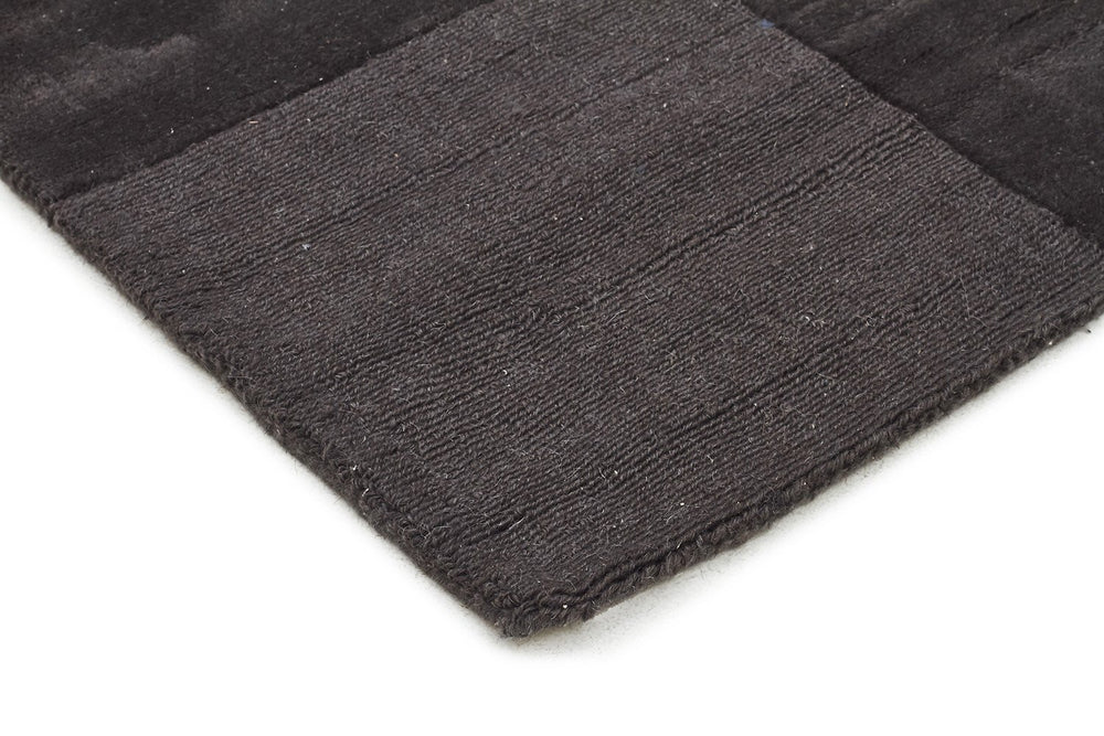 Timeless Boxed Pattern Wool - Pewter [Runner]