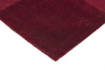 Timeless Boxed Pattern Wool - Red [Runner]
