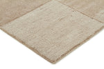 Timeless Boxed Pattern Wool - Taupe [Runner]
