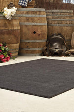 Timeless Loop Wool Pile - Charcoal
