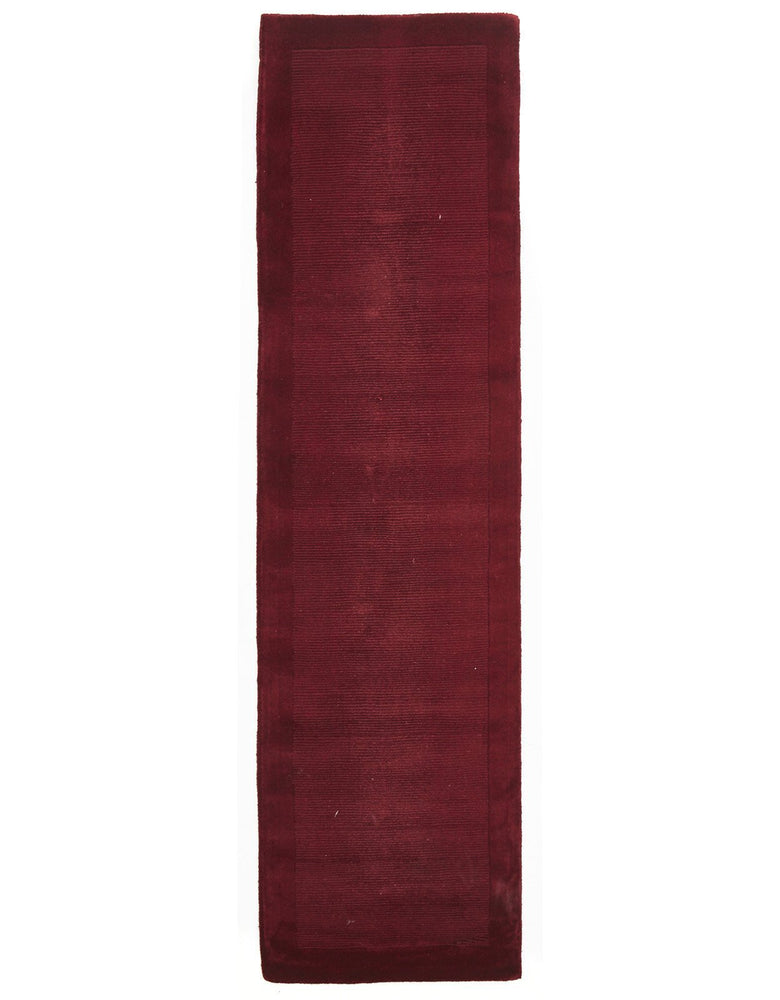 Timeless Loop Wool Pile - Red [Runner]