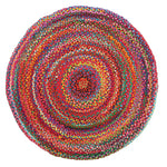 Chandra Braided Cotton - Multi [Round]