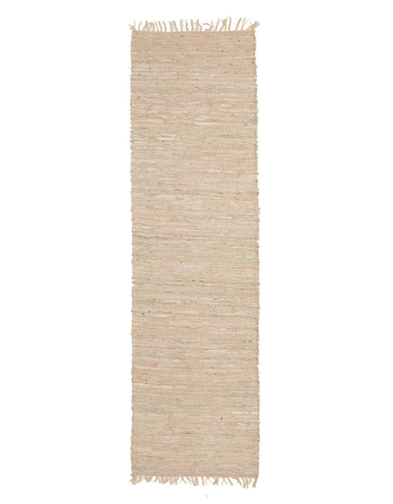 Bondi Jute and Leather - Nude