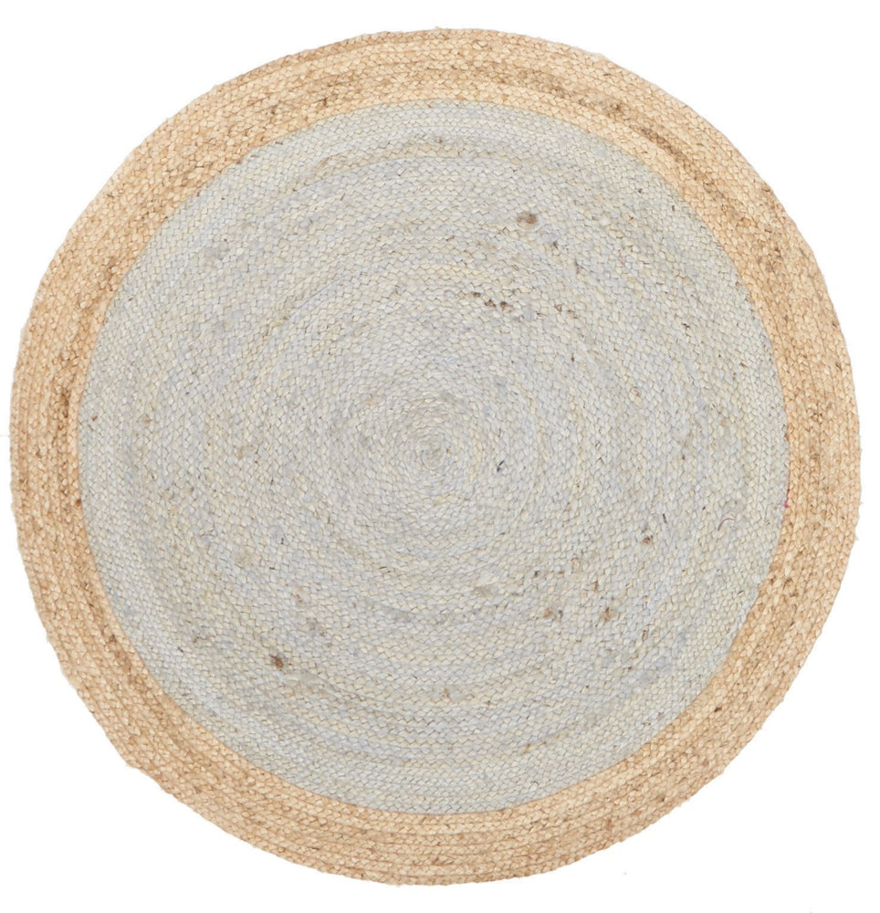 Signal Jute - Natural Silver Blue [Round]