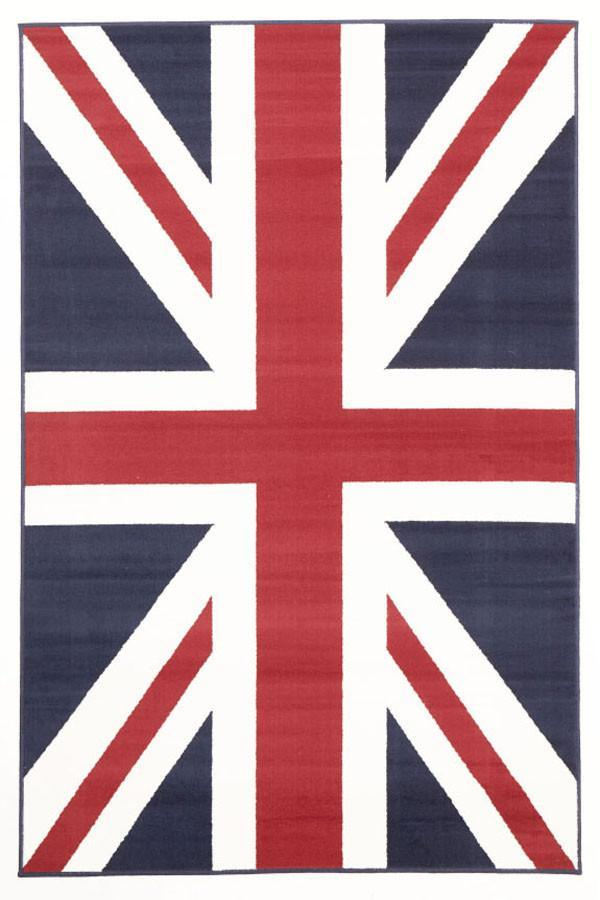 Modern Union Jack - Blue White Red