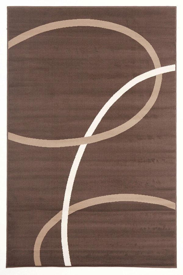 Modern Bends - Brown Beige Cream