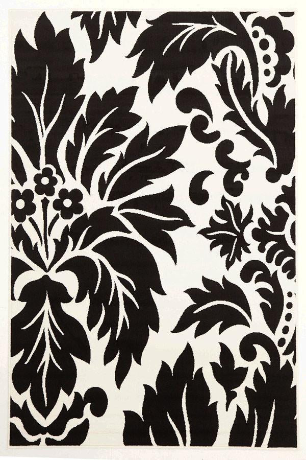Stunning Floral Pattern - Black & White