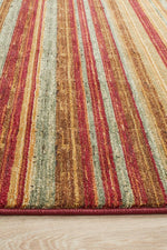 Byblos Rustic Striped - Red