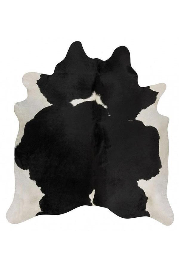 Exquisite Natural Cow Hide - Black & White
