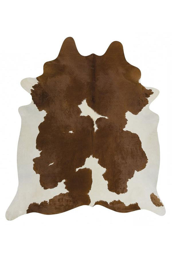 Exquisite Natural Cow Hide - Brown & White