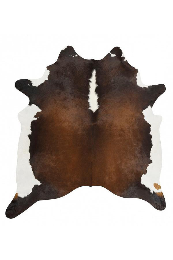 Exquisite Natural Cow Hide - Chocolate