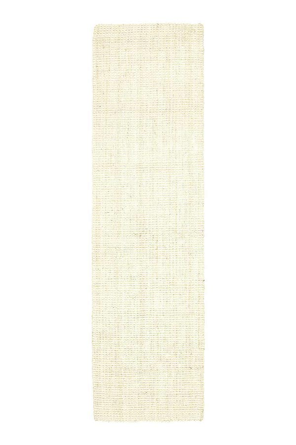 Chunky Natural Fibre Barker - Bleach [Runner]