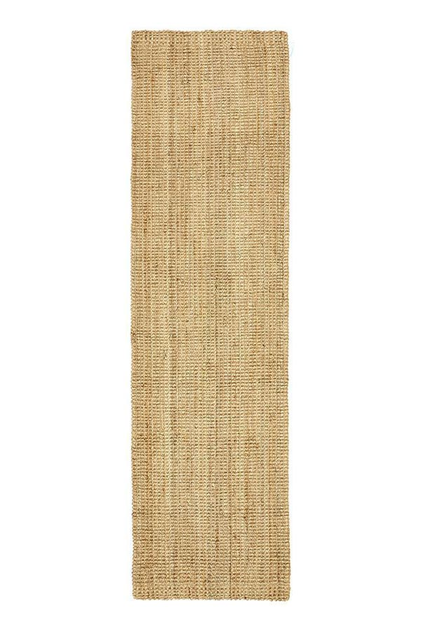 Chunky Natural Fibre Barker - Natural [Runner]