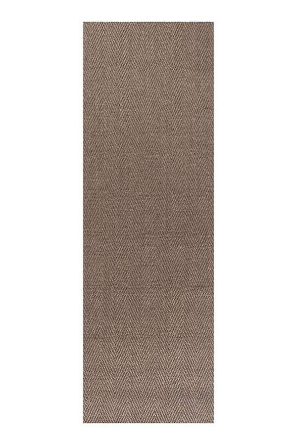 Eco Sisal Herringbone - Brown [Runner]