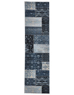 Culture Heirloom Patchwork - Blue [Runner]